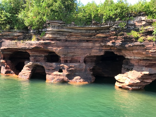 Caves on Devil's Island